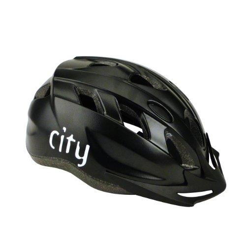 Fahrradhelm City Black (Größe L/XL, 58-62cm)