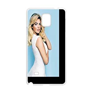 Celebrities Kate Upton White Vogue Samsung Galaxy Note 4 Cell Phone Case White Protect your phone BVS_545208