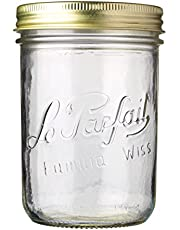 Le Parfait Familia Wiss Terrines Jar, 750ML, 10cm Diameter (922939)