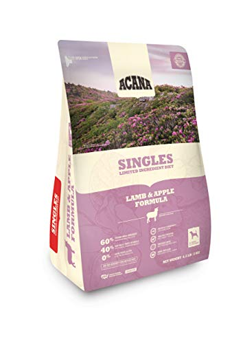 Acana Singles Limited Ingredient Dry Dog Food, Lamb & Apple, Biologically Appropriate & Grain Free, 13 Pounds