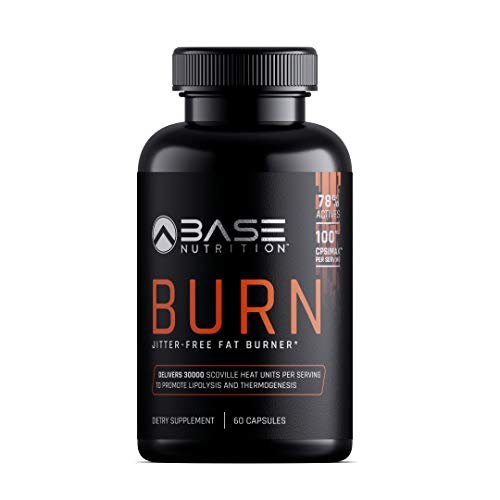 BASE BURN Thermogenic Fat Burner & Weight Loss Pills for Women & Men - Appetite Suppressant & Weight Loss Supplement that Works - Best Fat Burner with Forskolin & Green Tea Extract - 60 Veggie Caps