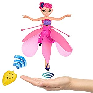 Armand Flying Fairy Doll Infrared Induction Control RC Helicopter Kids Toys Teen Toys Ballet Girl Flying Princess Doll (Flying Fairy)