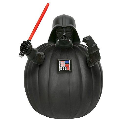 Starwars Pumpkin Carving (Star Wars Darth Vader Push-In Pumpkin Decorating)