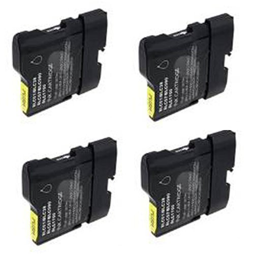 Amsahr LC61 Brother LC61, DCP-165C, MFC-290C Compatible R...