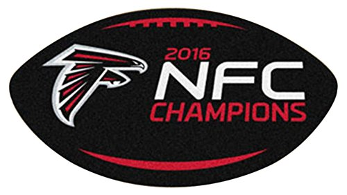 lanta Falcons Nfc Champions Football Rug ()