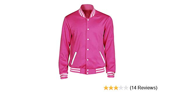 Fortunehouse Mens Steven Pink Coat Hoodie Baseball Uniform Unisex Cosplay Costume