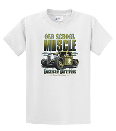 Hot Rod T-Shirt Old School Muscle Rat Rod