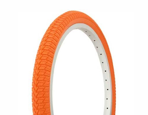 Tire Duro 20'' x 1.75'' Orange/Orange Side Wall.bike tire, lowrider bike tire,lowrider bicycle tire,bmx bike tire by Lowrider