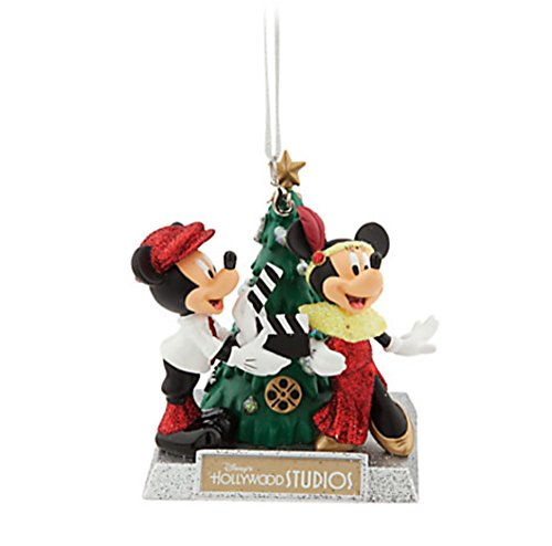 Disney Holiday Ornament - Mickey and Minnie Mouse Hollywood Studios Tree