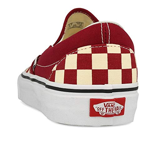 Rumba Vans on Red Slip Classic Checkerboard SxUU8qFfwZ