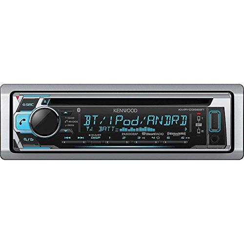 [Kenwood KMR-D368BT CD/MP3 Marine Stereo Receiver with Bluetooth] (Kenwood Sirius Satellite Tuner)