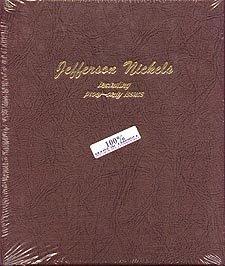 Dansco Coin Album #8113 for Jefferson Nickels: 1938-Date w/proofs by Dansco ()
