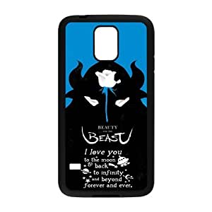 LeonardCustom- Beauty and The Beast Princess Belle Protective Hard Rubber Coated Cover Case for Samsung Galaxy S5 -LCS5U367 by mcsharks