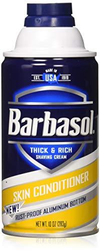 Barbasol Beard Buster Shaving Cream Skin Conditioner 10 oz (Pack of 3)