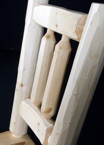 (Viking Log Furniture Log Dining Chair)