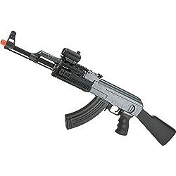 Evike - Matrix AK47 Tactical Airsoft AEG Rifle w/RIS Handguard & Lipo Ready Metal Gearbox by CYMA