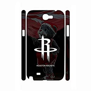 Designed Sports Style Print Basketball Team Logo Photo Snap on Background for Samsung Galaxy Note 2 N7100 Case