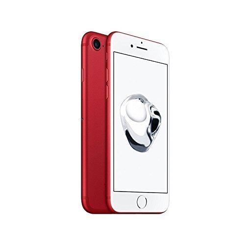 Apple iPhone 7, GSM Unlocked, 128GB - Red (Refurbished)