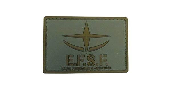 Low Visibility Ver Character Cospa PVC Patch Mobile Suit Gundam Zeon E.F.S.F