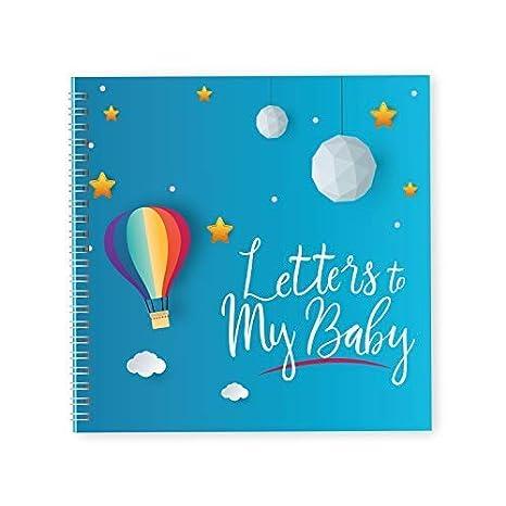 Cartas para mi bebé | Libro de recuerdos y diario de embarazo | 40 páginas, 8 x 8, incluye pegatinas de maternidad | maravilloso recuerdo para la ...