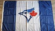 Toronto Blue Jays Canada Flag - 3FT x 5FT