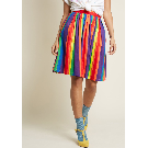 Aspiration Creation A-Line Skirt in Vibrant   ModCloth