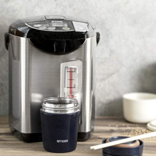 Tiger PDU-A40U-K Electric Water Boiler and Warmer, Stainless Black, 4.0-Liter Includes Travel Mug and 2 Mugs by Tiger Corporation (Image #7)