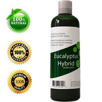 Bath Bubbles Aromatherapy Eucalyptus Essential Oil Blend