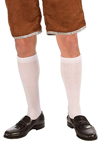 Forum Novelties 72037 Male Knee Socks, White, One Size fits Most, Pack of 1 - http://coolthings.us