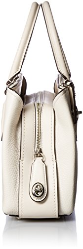 Womens Sv 28 COACH Pebbled Carryall Chalk Brooklyn vPw7qw