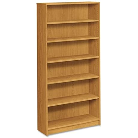 Hon 6 Shelf Bookcase 36 By 11 1 2 Inch 72 5 8 Inch Harvest