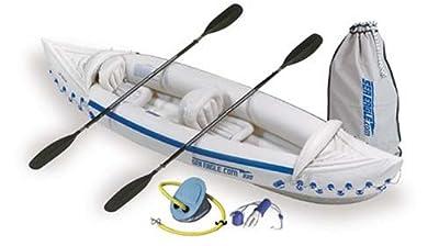 SE330-DLX Sea Eagle Deluxe Bundle Package 330 Inflatable Kayak