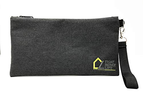 Smell Proof Bag with Zipper - 11 X 6 - Ideal for Herbs, Food, Tobacco, Grinder, Smoking Accessories - Smell Proof, Odor Blocking, Resealable Storage - Discreet Containers for Travel - That Life Shop