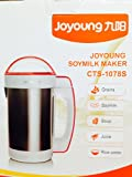 Joyoung Cts-1078s Easy-clean Automatic Hot Soy Milk Maker review