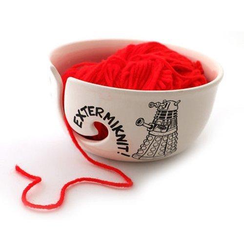 Doctor Who Yarn Knitting Bowl product image
