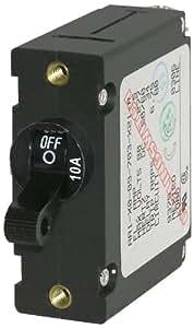 Blue Sea Systems 7204 AC/DC Single Pole Magnetic World Circuit Breaker
