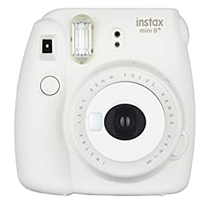 Fujifilm Instax Mini 8+ (Mint) Instant Film Camera + Self Shot Mirror for Selfie Use (Japan Import)