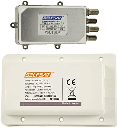 Selfsat LDU4 – Quad LNB para H21 Antena