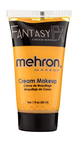 Mehron Makeup Fantasy F/X Water Based Face & Body Paint (1 oz) (Orange) -