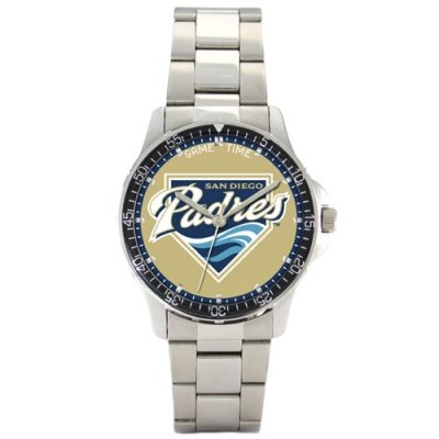 Sports Mens Watch Series Coach (Game Time San Diego Padres Coach Series Mens MLB Watch)