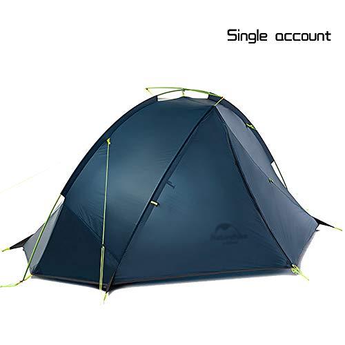 横たわる机コロニアル超軽量シングルダブルテント、防風、防雨、キャンプテント (色 : A)
