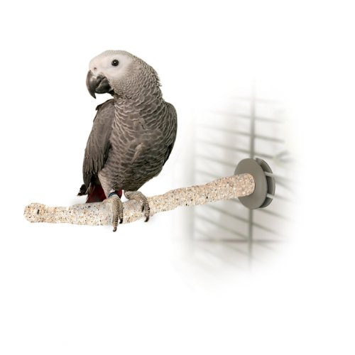 K&H Pet Products Sand Thermo-Perch Heated Bird PerchMedium Tan 1.25