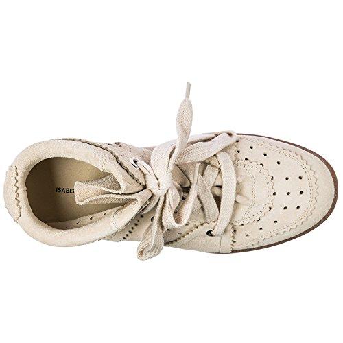 Sneakers Chaussures Bobby Isabel Rose Daim en Hautes Baskets Marant Femme FwRRAPq