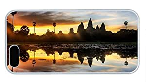 Hipster girly iphone 5 cases angkor wat temple cambodia PC White for Apple iPhone 5/5S