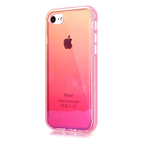 AIIYG DS,iPhone 7 Case,Case for iPhone 7,Gradient Color Mirror Soft