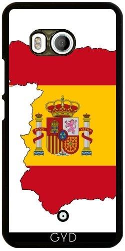 Funda para Htc U11 - España Flag Barcelona by WonderfulDreamPicture