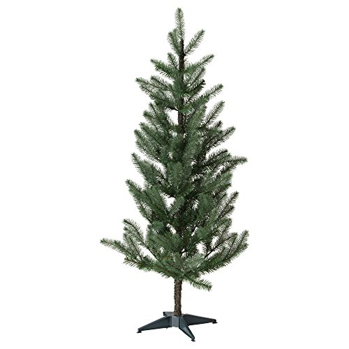IKEA Fejka Best Artificial Fake Christmas Tree - 5 Ft 1 Inch Realistic Evergreen - Life Like - Douglas Fir Pine - Perfect for Family Xmas (61 Inches)