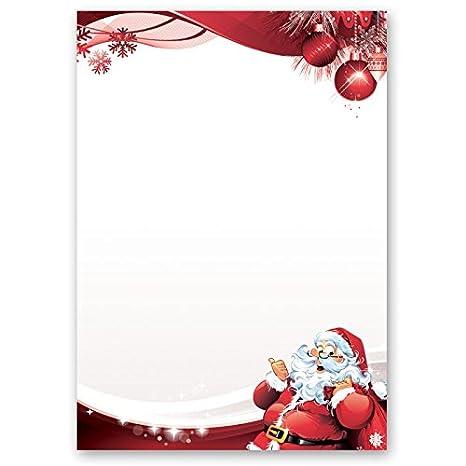 Immagini Di Lettere Per Babbo Natale.Carta Da Lettera Decorati Natale Lettera A Babbo Natale 50