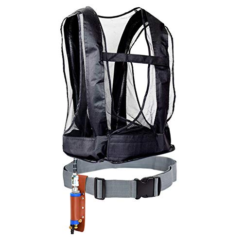 WEUN Vortex Cooling Vest with Cooler for Long Spray Painting Sandblasting Operations and Welding Operation Keep Workers in A Good Climate Make Comfortable 003 New Debut - Air Cooler Compressed