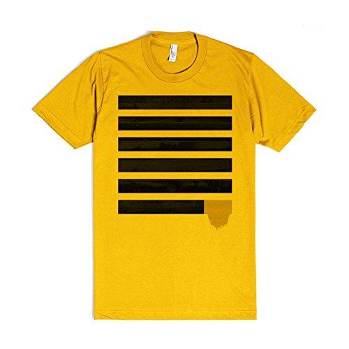 Slats#001 | 2XL Gold T-Shirt (Gold Slat)